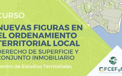 Curso «Nuevas figuras para el Ordenamiento Territorial»
